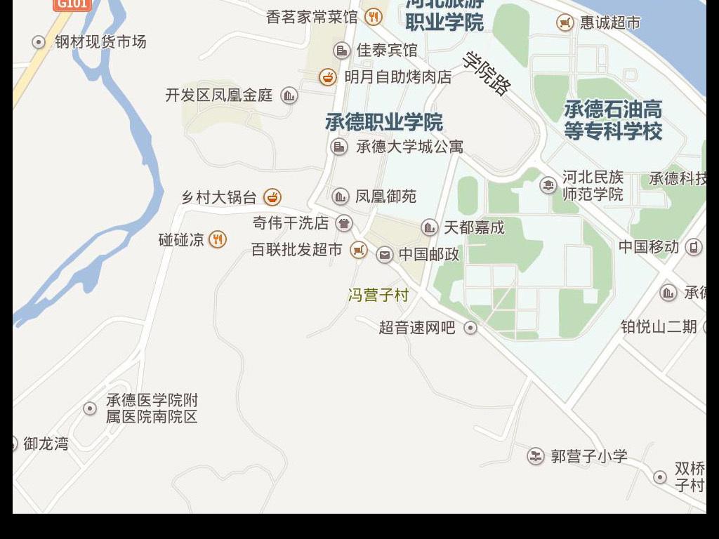 承德市电子版地图图片下载