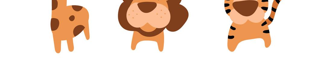 可爱卡通动物卡通素材(图片编号:15988059)_插画|元素
