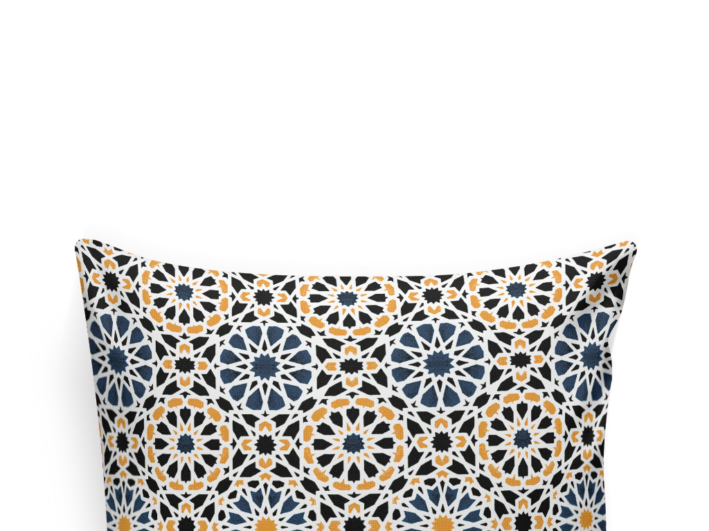 波西米亚抱枕花纹欧式花纹四方连续