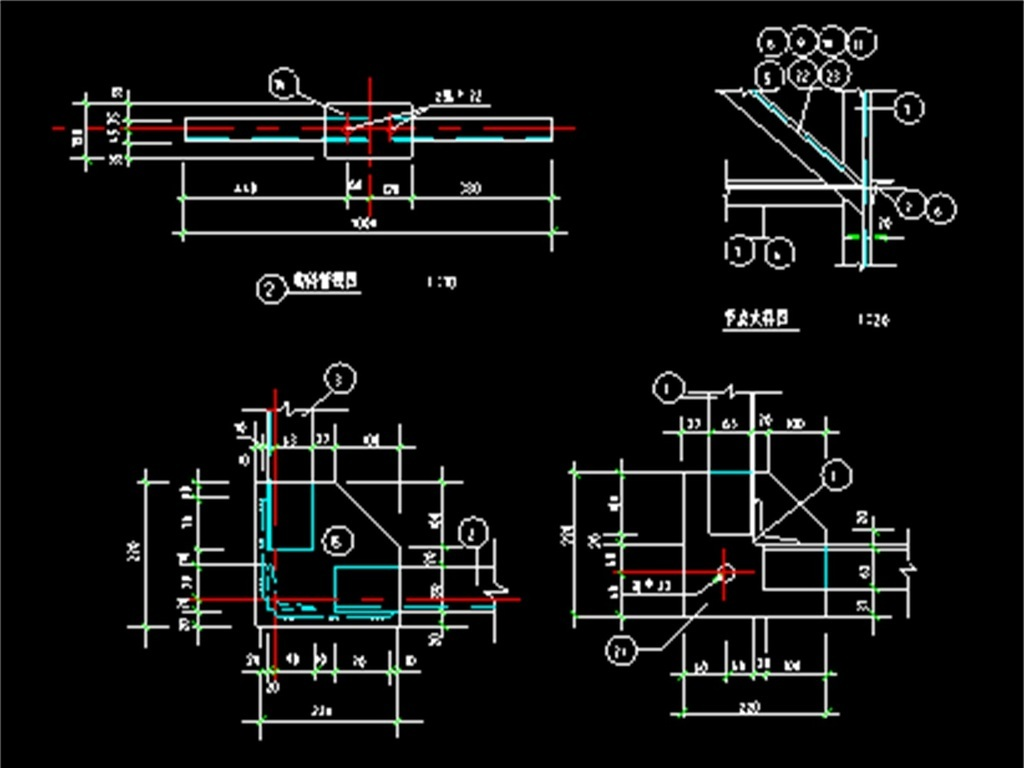 cad图库 室内设计cad图库 cad图纸 > 钢结构cad设计图  版权图片 分享