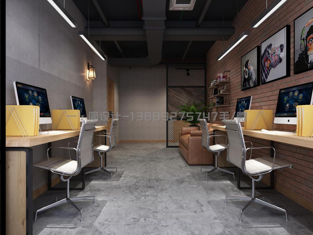 办公室工业风格经理室