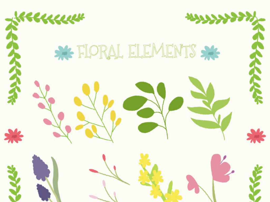 邀请函花展欧式艺术文艺边框海报宣传展架花店包装节日情人节设计花卉