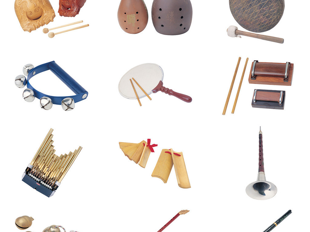 中国民族乐器免抠png透明素材图片