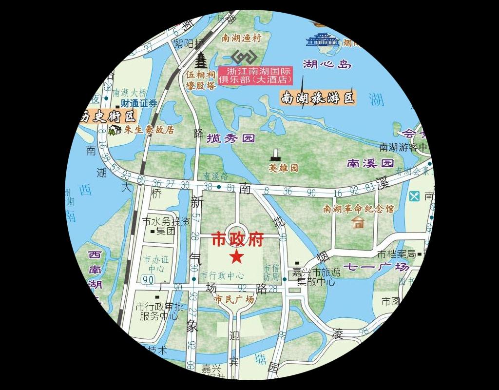 嘉兴地图中国地图世界地图矢量