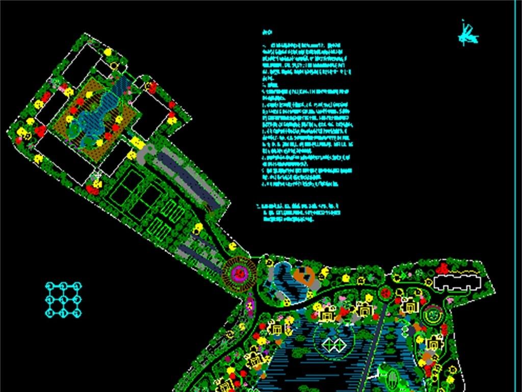 景观绿化cad绿化图库绿化cad图园林景观cad小区景观cad景观cad剖面图