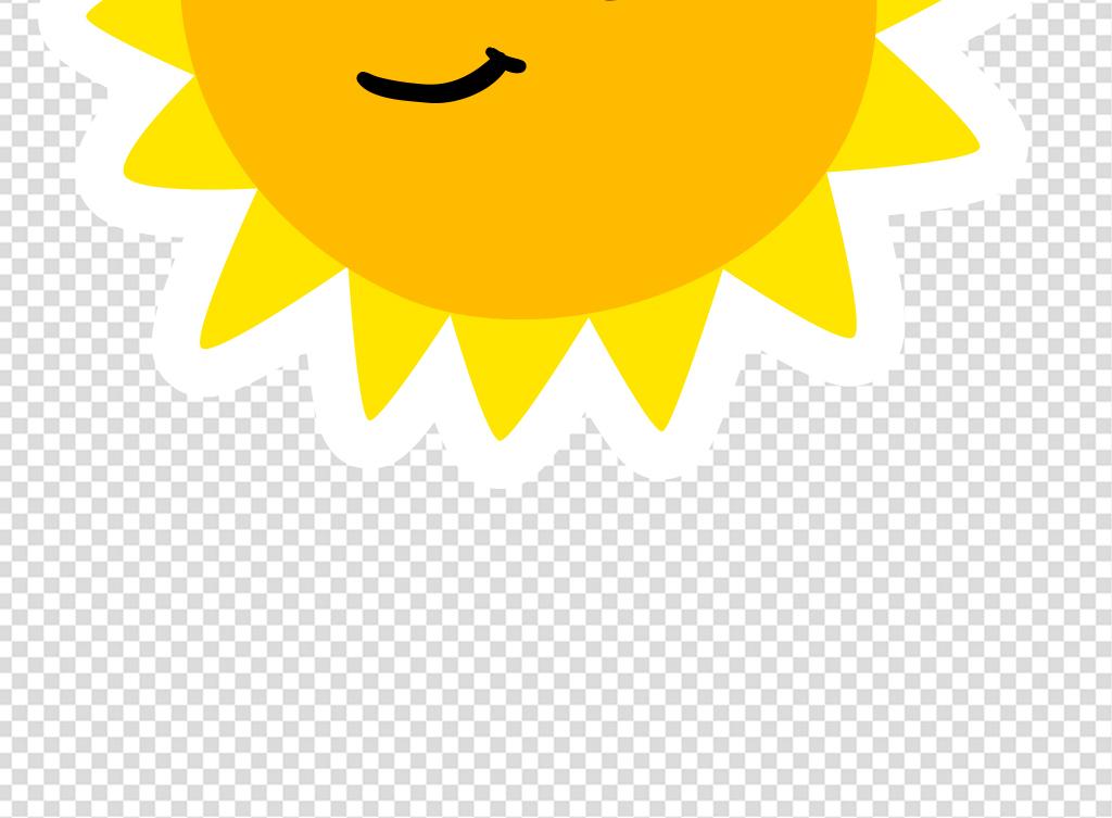 卡通笑脸                                  笑脸太阳