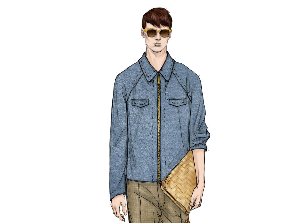 服装设计 服装手稿 其他手稿 > 男装衬衫设计效果图高清图海报印刷