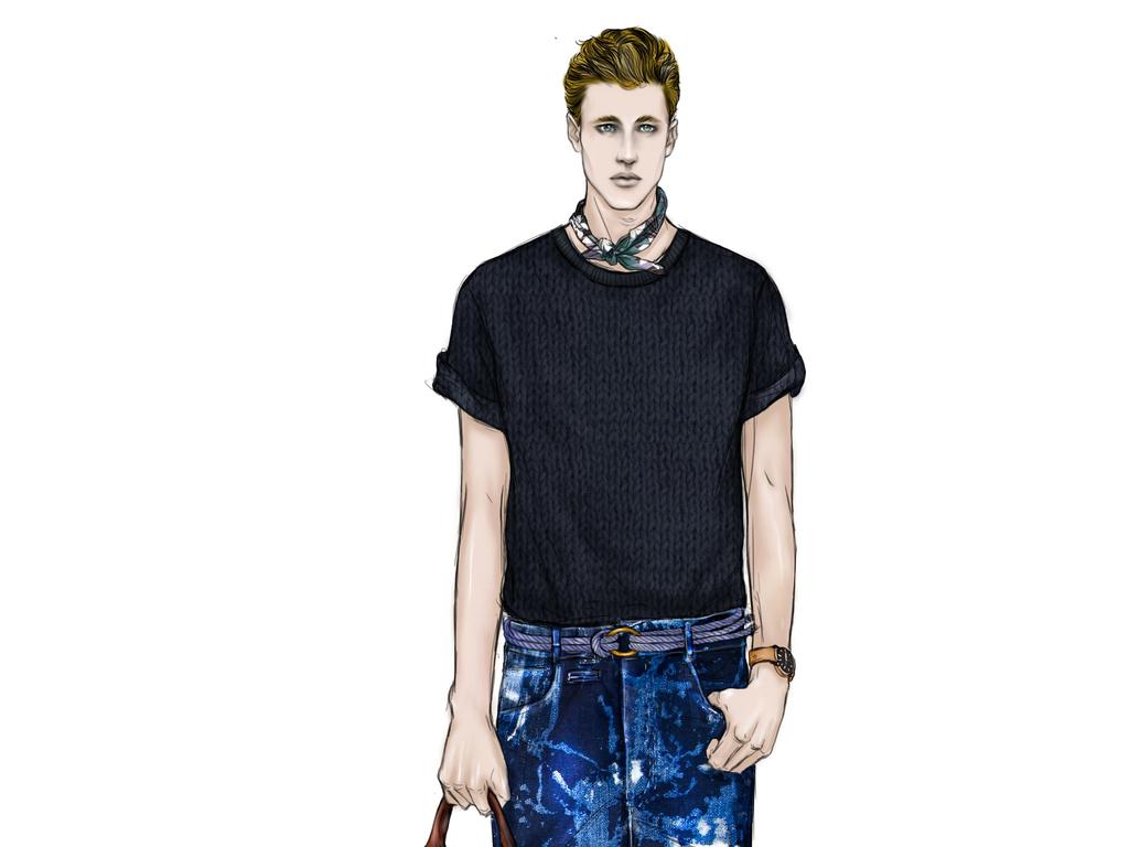 服装效果图服装高清效果图服装效果图手绘图男装