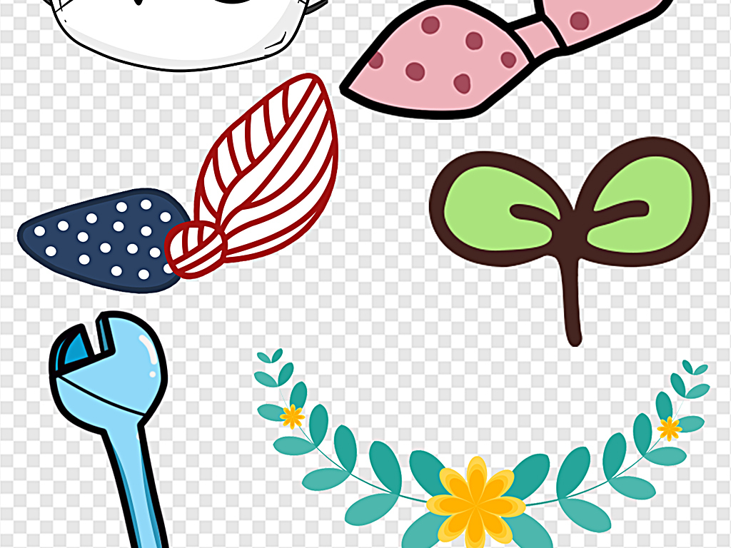 12:26:02 我图网提供精品流行可爱卡通幼儿装饰视频装饰弹幕文字素材