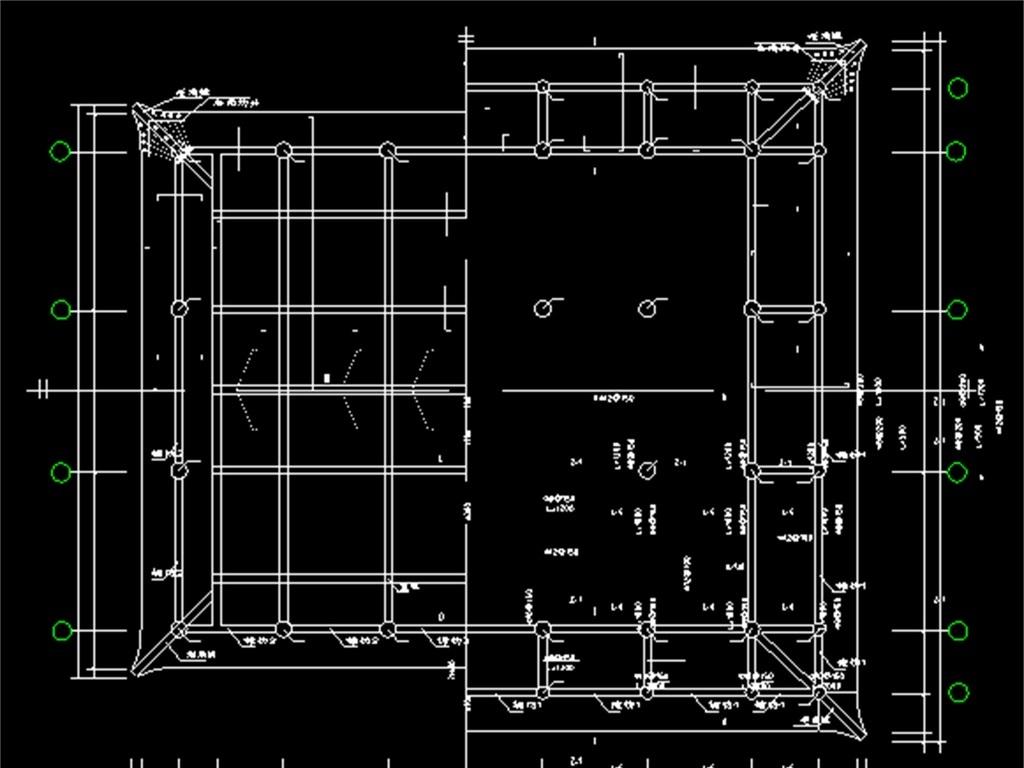 cad图库 室内设计cad图库 cad图纸 > 古建筑宫殿殿阁cad设计图  版权