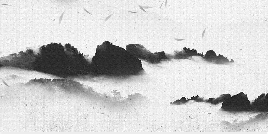 新中式意境山水装饰画