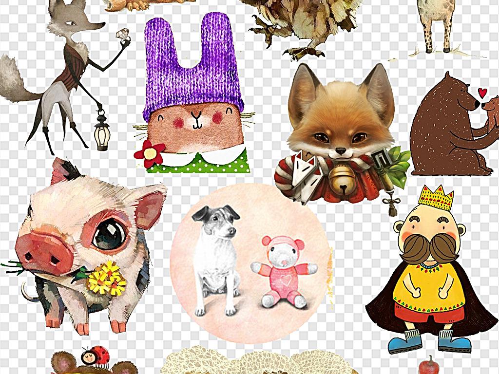 创意萌宠大作战萌萌的动物大自然小动物