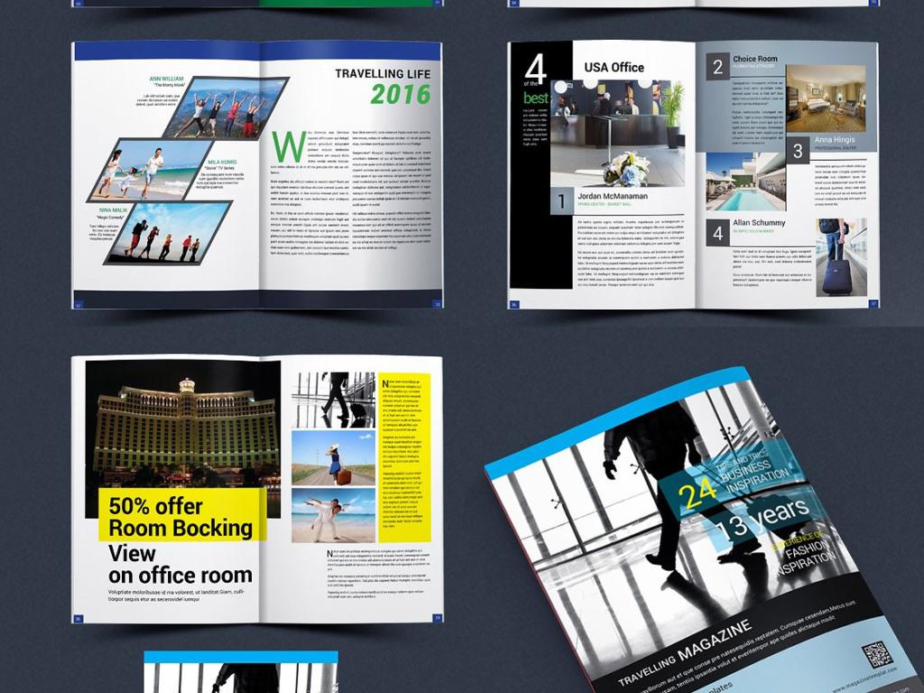 创意杂志排版设计目录
