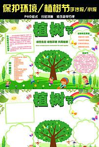 游环境保护绿色手抄报素材图片 psd模板下载 11.72MB 保护环境手抄