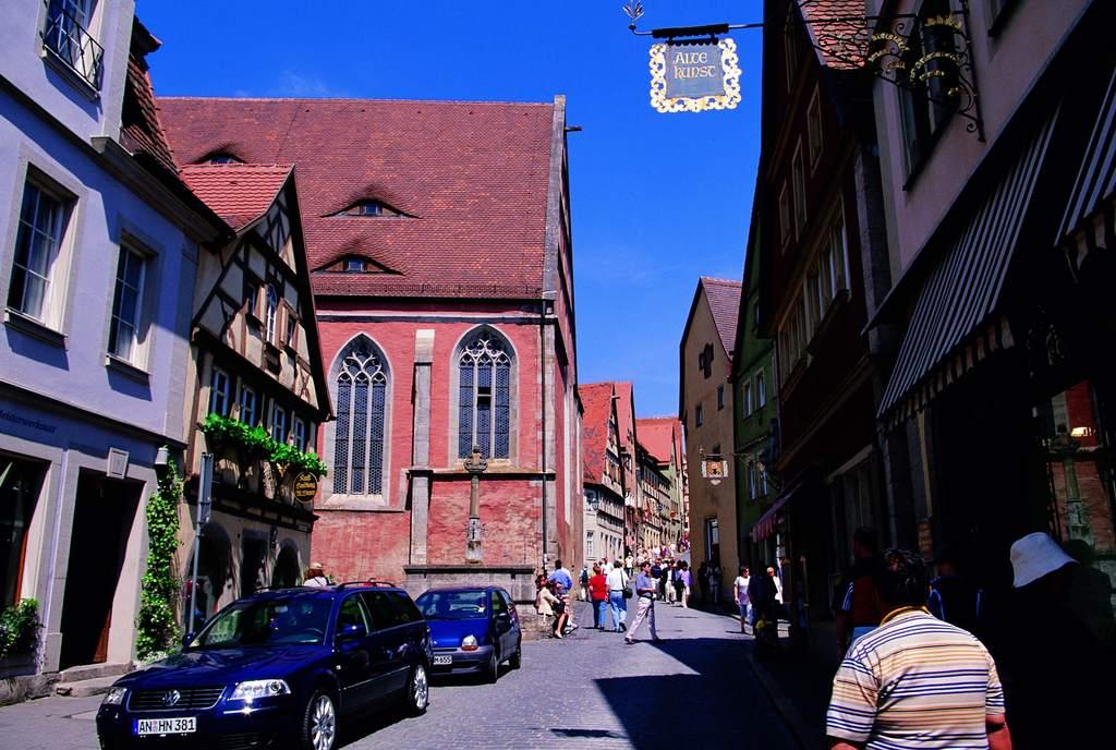 德国小镇欧洲建筑世界风景街景住宅 位图, cmyk格式高清大图,使用