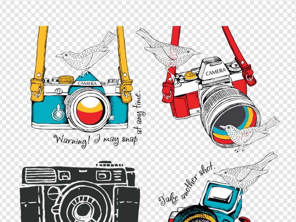 png)                                  数码相机素材装饰单反相机