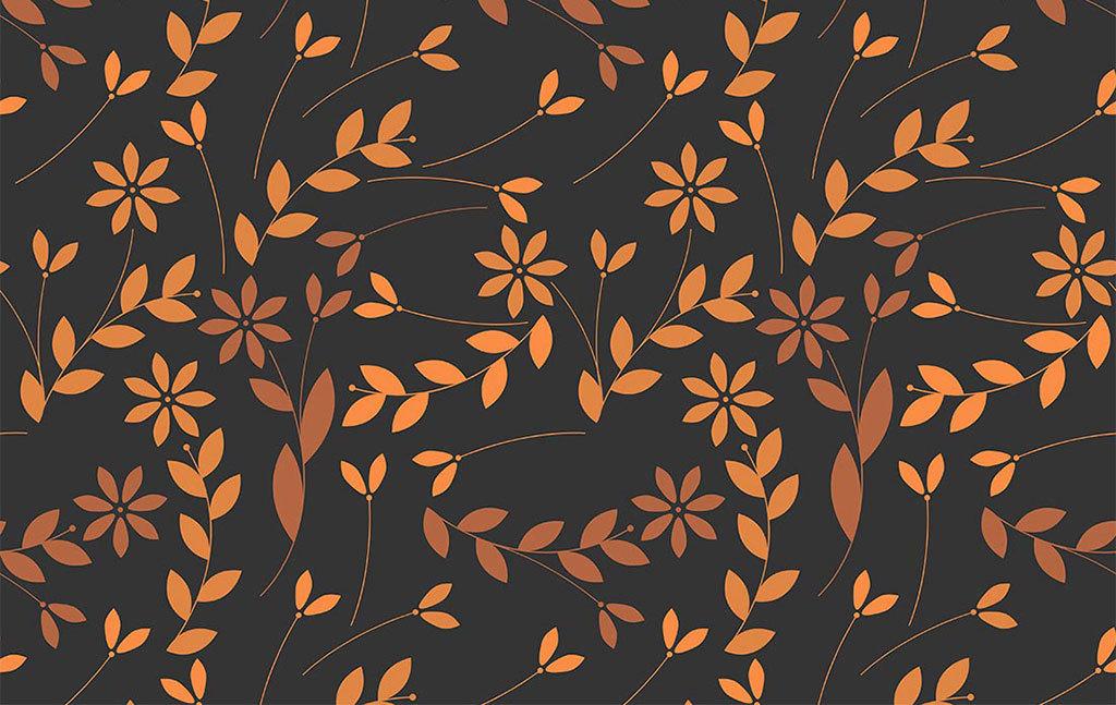 原创设计手绘线稿枯黄叶子无缝背景高清图素材是用户qq4ba3a4