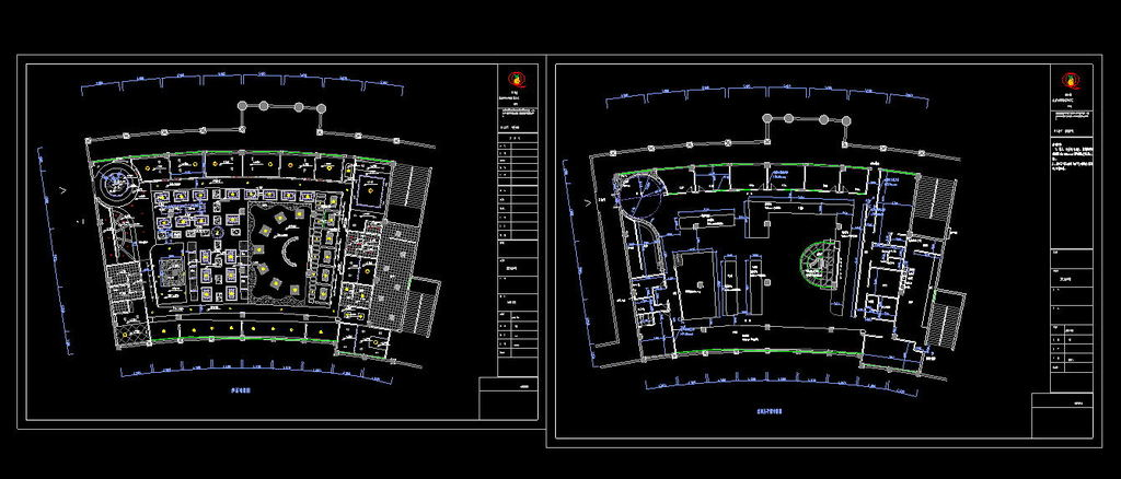 建筑设计图咖啡厅cad建筑施工图咖啡厅cad施工图cadcad图纸咖啡厅平面