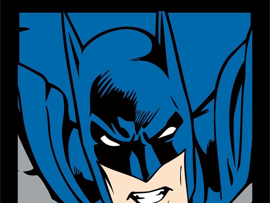 漫威动漫人物卡通超人ai矢量图设计素材