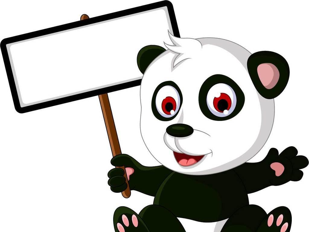 卡通形象可爱动物学前教育儿童教育动物合影