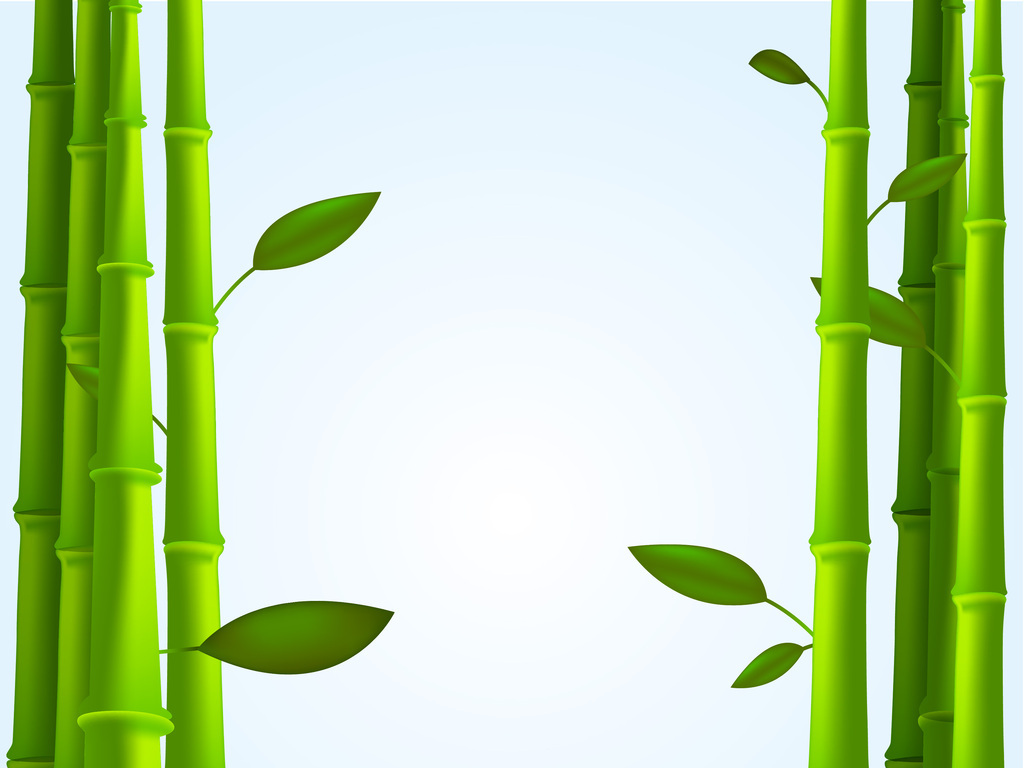 绿色竹子背景图