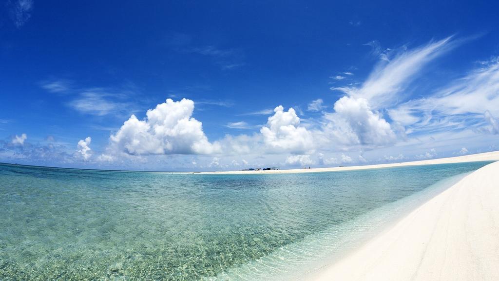 海滩沙滩大海海岸海边自然风景素材图片 模板下载 3.29MB 其他大全 标志丨符号