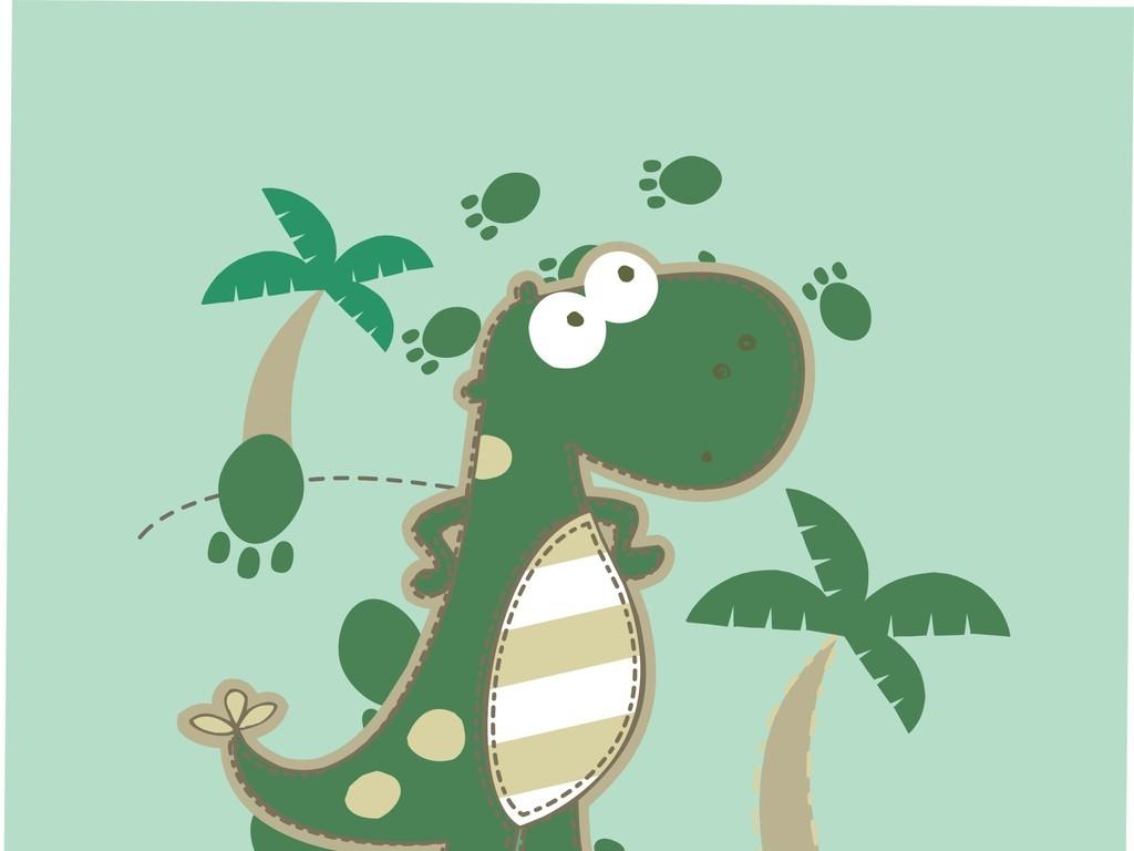 卡通动物图案恐龙