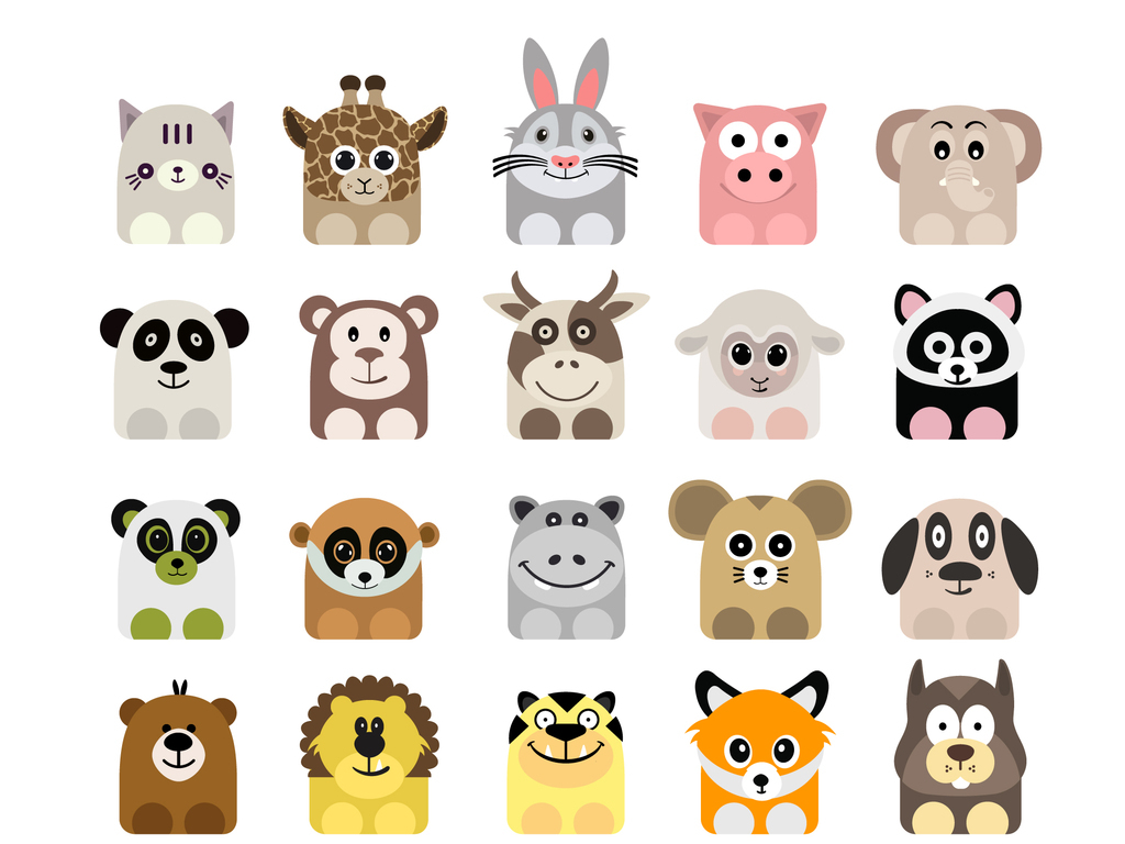 设计元素 自然素材 动物 > 卡通动物小图标  版权图片 分享 :  举报有
