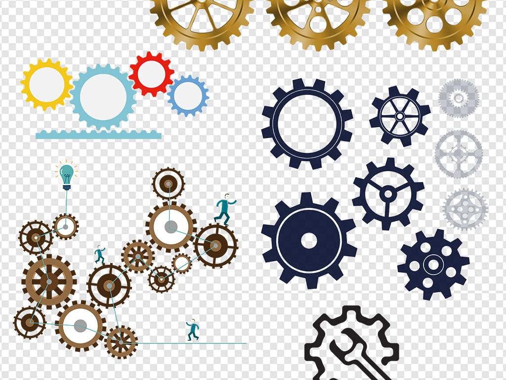 设计作品简介: 机械金属商务齿轮图片海报素材 位图, rgb格式高清大图