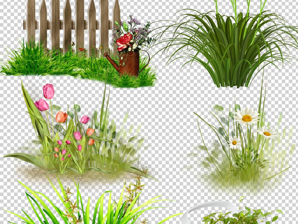 边框绿色环保透明背景草坪png背景透明素材透明背景素材绿色环保素材