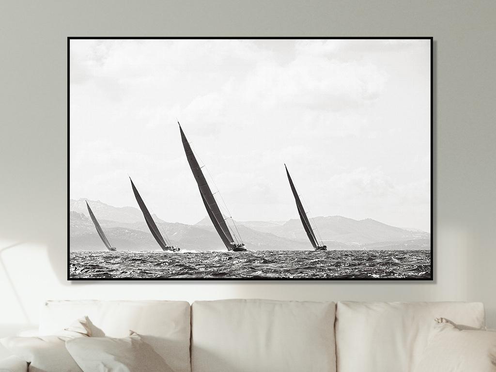 黑白摄影风景装饰画 位图, rgb格式高清大图,使用软件为现代北欧欧式