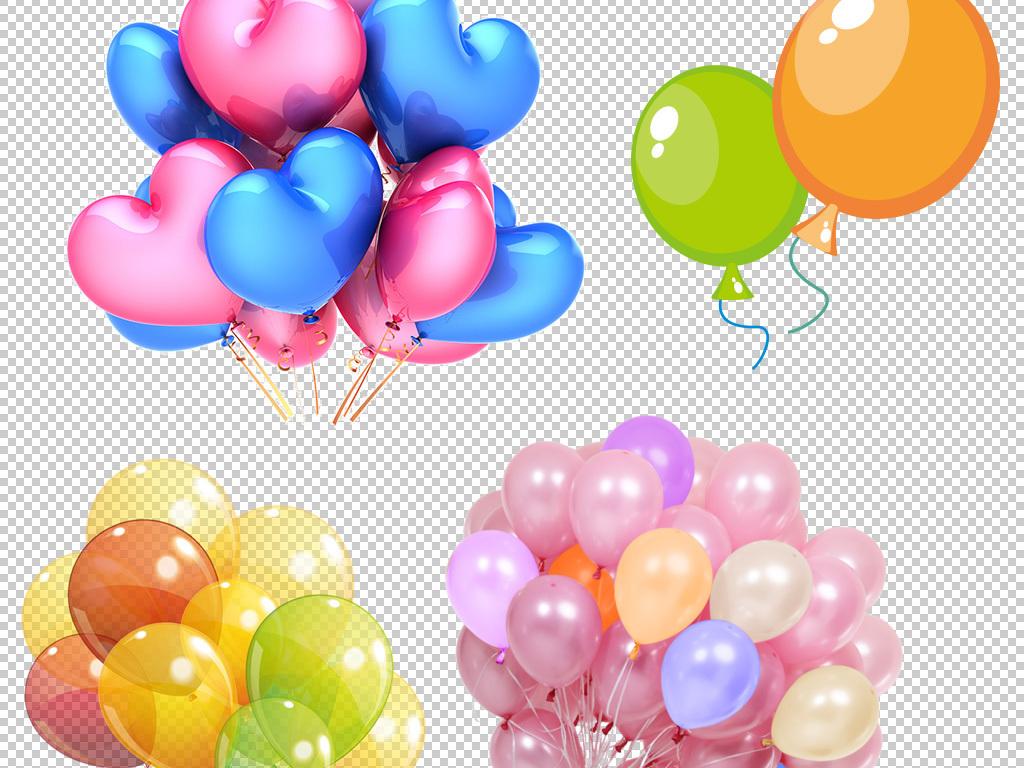 高清气球png素材