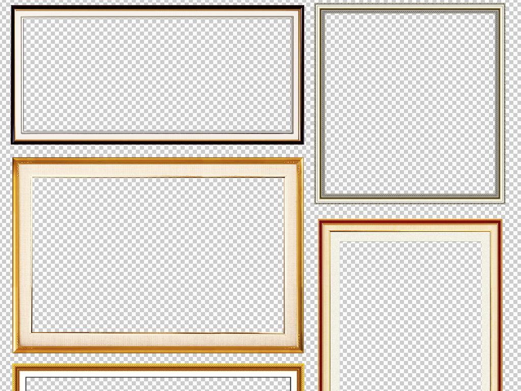 实木外框边框素材图片壁画外框书画外框相框图片画框