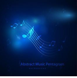 PNG音乐符号背景图片图片
