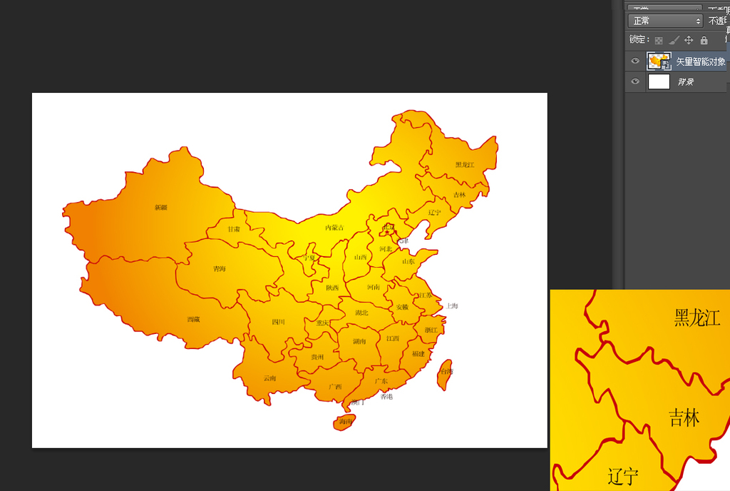 中国地图装饰电视背景墙