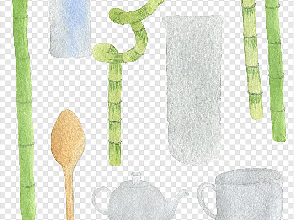 手绘叶子花环水彩手绘手绘水彩手绘素材水彩素材手绘