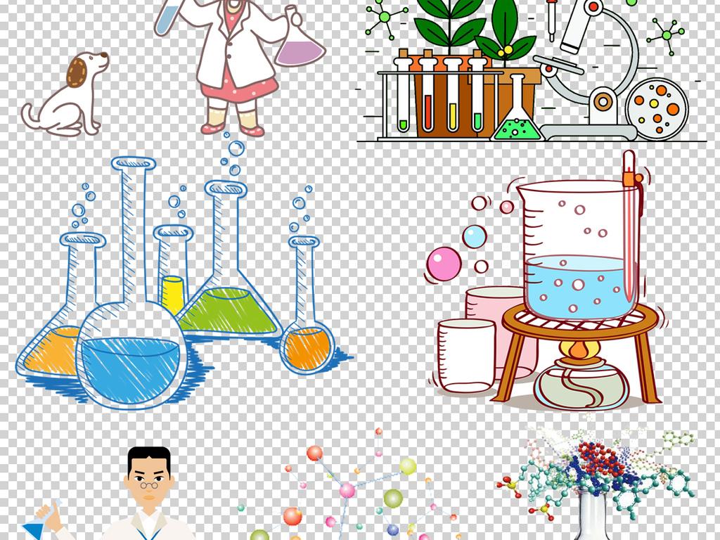 科学化学实验设备器材png透明背景素材图片