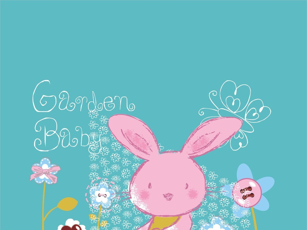 抱枕手绘抽象手绘花型设计卡通动物