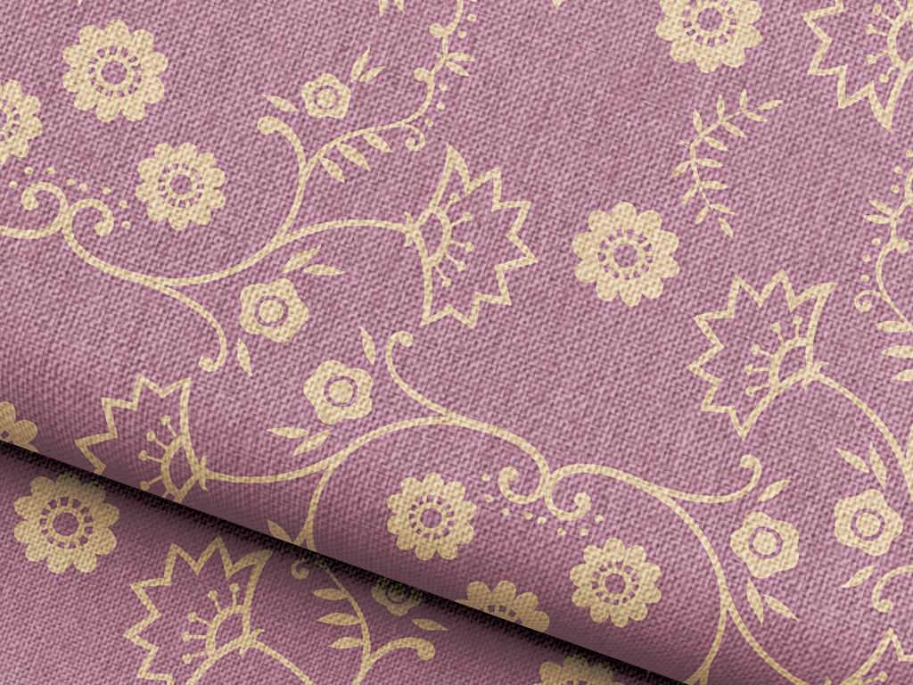 小碎花抱枕图案设计欧式花纹