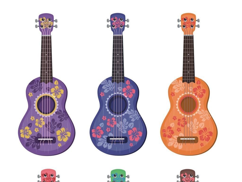 海报背景吉他音乐素材