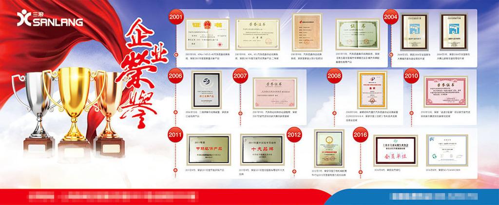 平面|广告设计 展板设计 企业展板设计 > 企业荣誉墙展板矢量