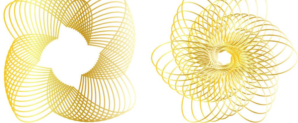 动感条纹ps设计透明素材免抠图