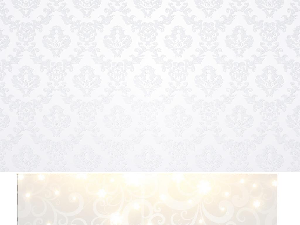 高档大气简约银色背景尊贵欧式古典花纹