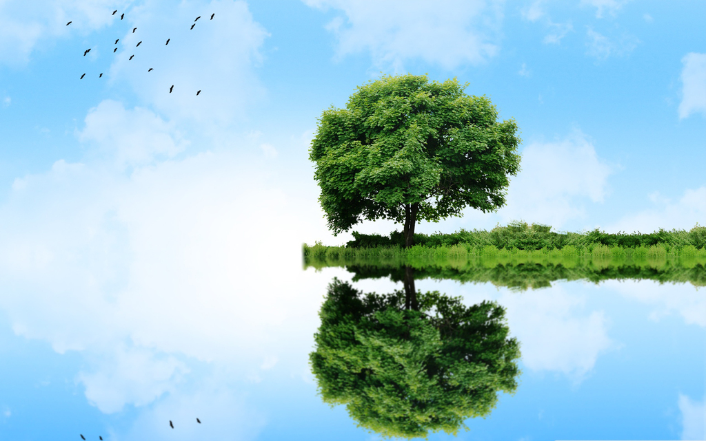 装饰画 北欧装饰画 森林风景装饰画 > 花边小岛风景意境梦境仙境梦幻