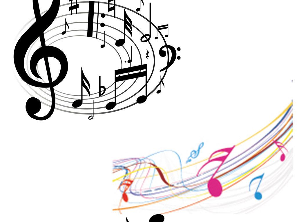 弹奏时尚麦霸乐器插画音乐教室