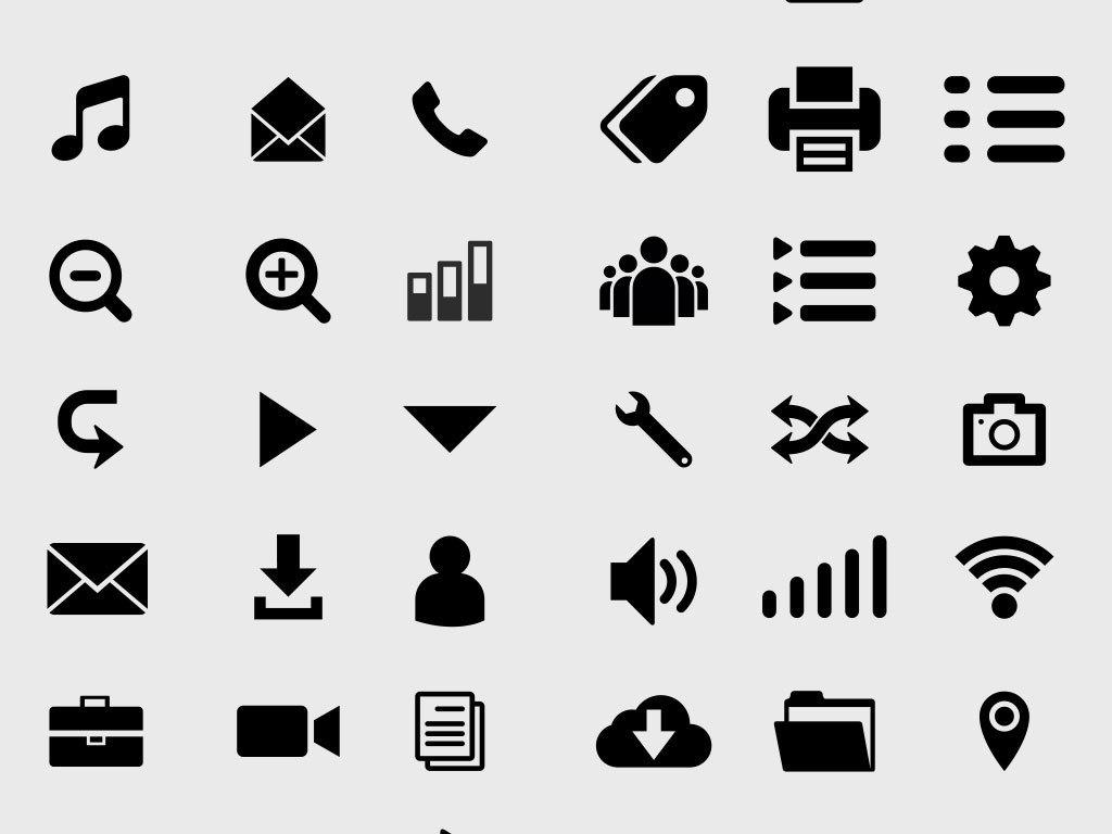 我图网提供精品流行icon商务系统小图标素材下