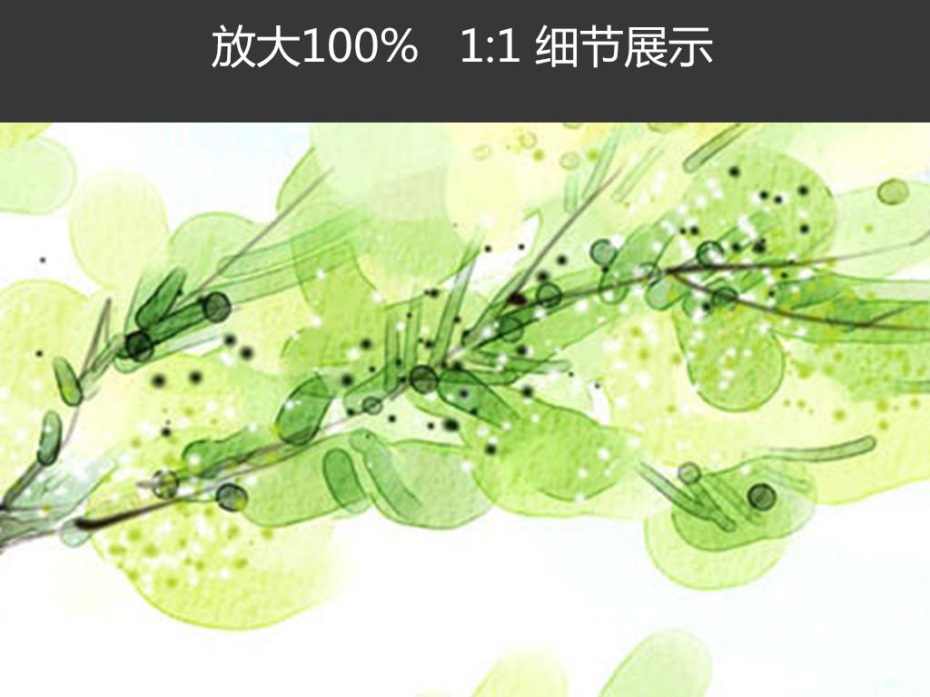 手绘颜料水墨油画风景简约动画挂画图片设计素材 高清模板下载 44.95MB 森林风景装饰画大全