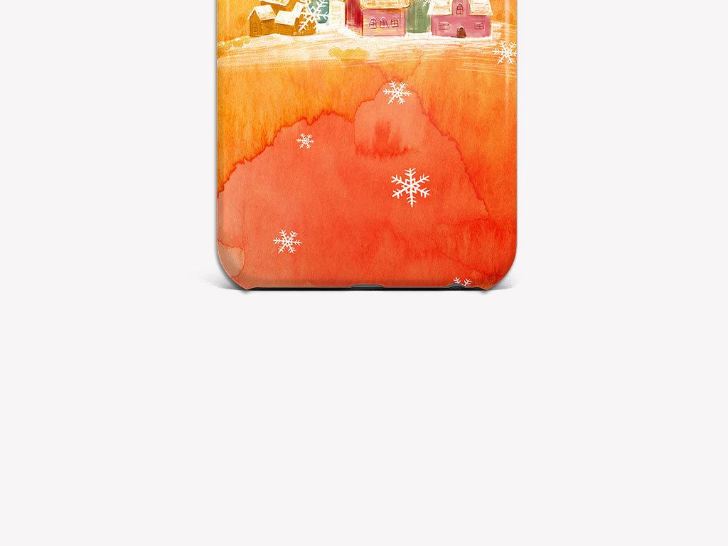 手绘房屋水彩房屋手绘图案手抄报图案手的图案3d手绘图案手机壳设计