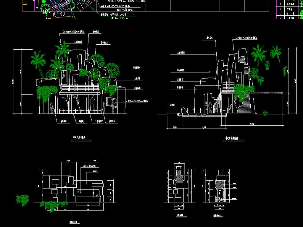 假山设计图公厕cad平面图库cad吊顶餐厅cad图家装cad平面图cad门窗