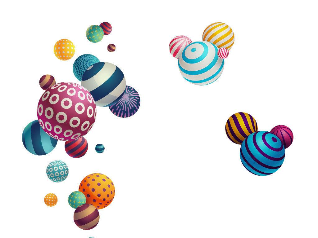 球状可爱动画图片